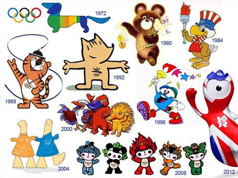 2016年里约奥运会和残奥会吉祥物长这样子