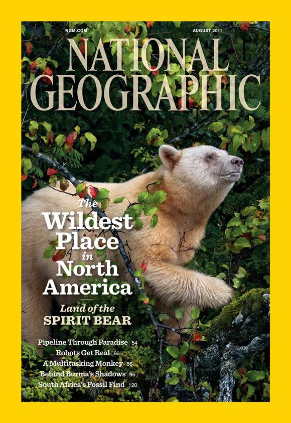 国家地理杂志最新一辑的封面故事特载了斯基尔斯