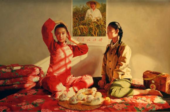 陈丹青们油画里的最美女知青