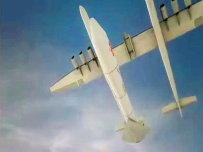 架世界最大的飞机