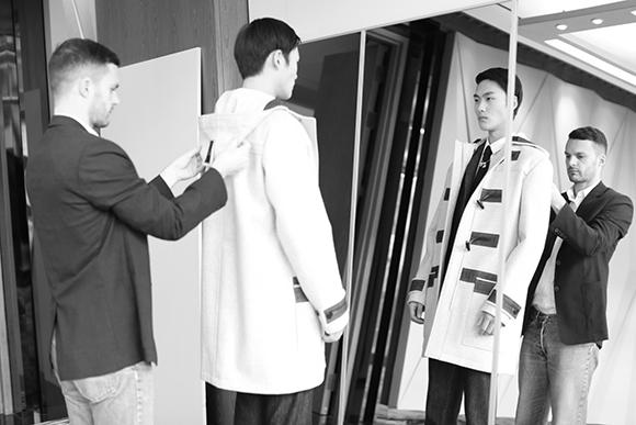 Dior Homme为了准备广州大秀 后台都在忙些什么?