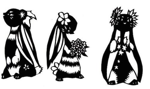 日本人用剪纸告诉你,好的艺术永远不会过时
