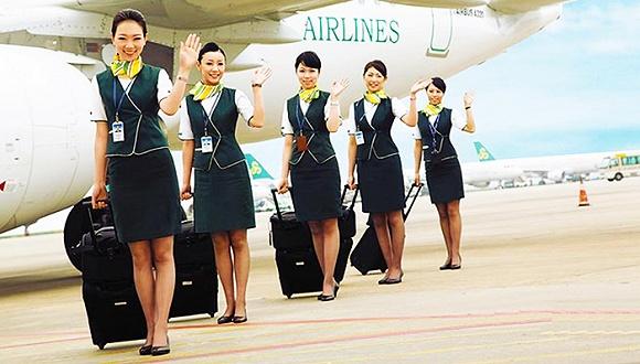 春秋航空来了首批台湾空乘