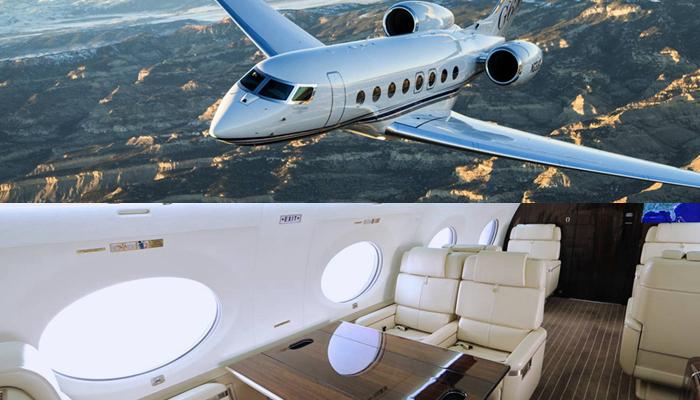 也是目前最快最豪华的私人飞机