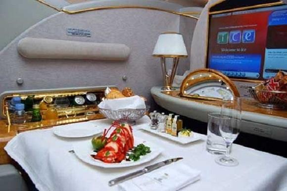 头等舱飞机餐最棒的五家航空公司