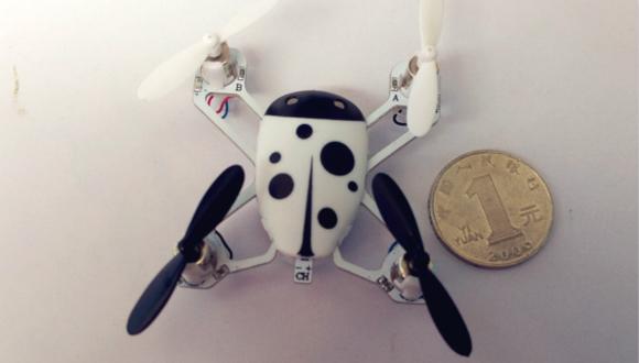 迷你四旋翼飞行器:大疆无人机mini版?