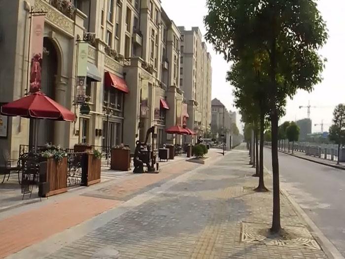 同样坐落在上海的意大利风情小镇breeza图片
