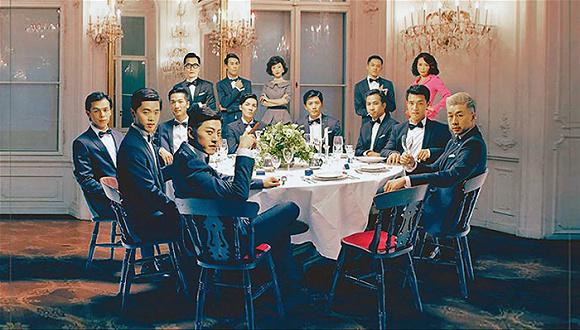 十二个男人演绎的《红楼梦》