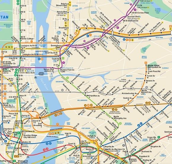 你希望地铁路线图更真实还是更一目了然图片