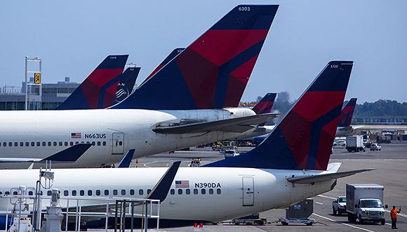 美国航空与英国航空,以及达美航空和维珍航空总共