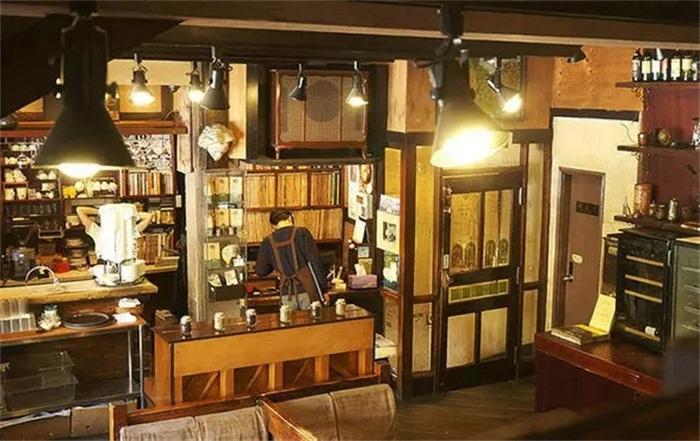 韩国甜品店铺装修图