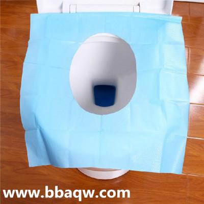 使用一次性马桶垫纸