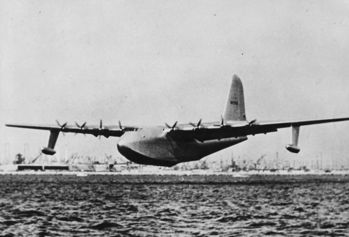 二战怪胎——美国h-4巨型水上飞机