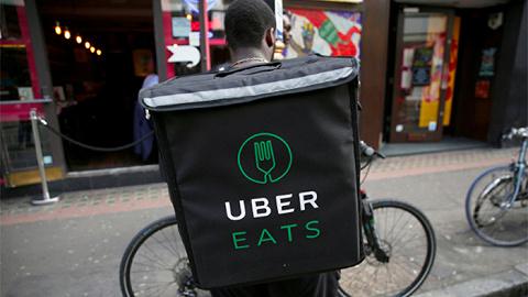 "Uber Eats送餐员伦敦拦路罢工, 抗议""赚钱太少"""