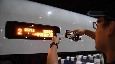 香港段投入运营,广深港高铁全线开通运营