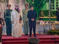 沙特王储携大单访巴,美媒:亚洲三国之行体现战略转移