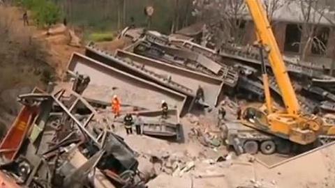 中铝物流火车倾覆6人不幸遇难,现场救援工作结束